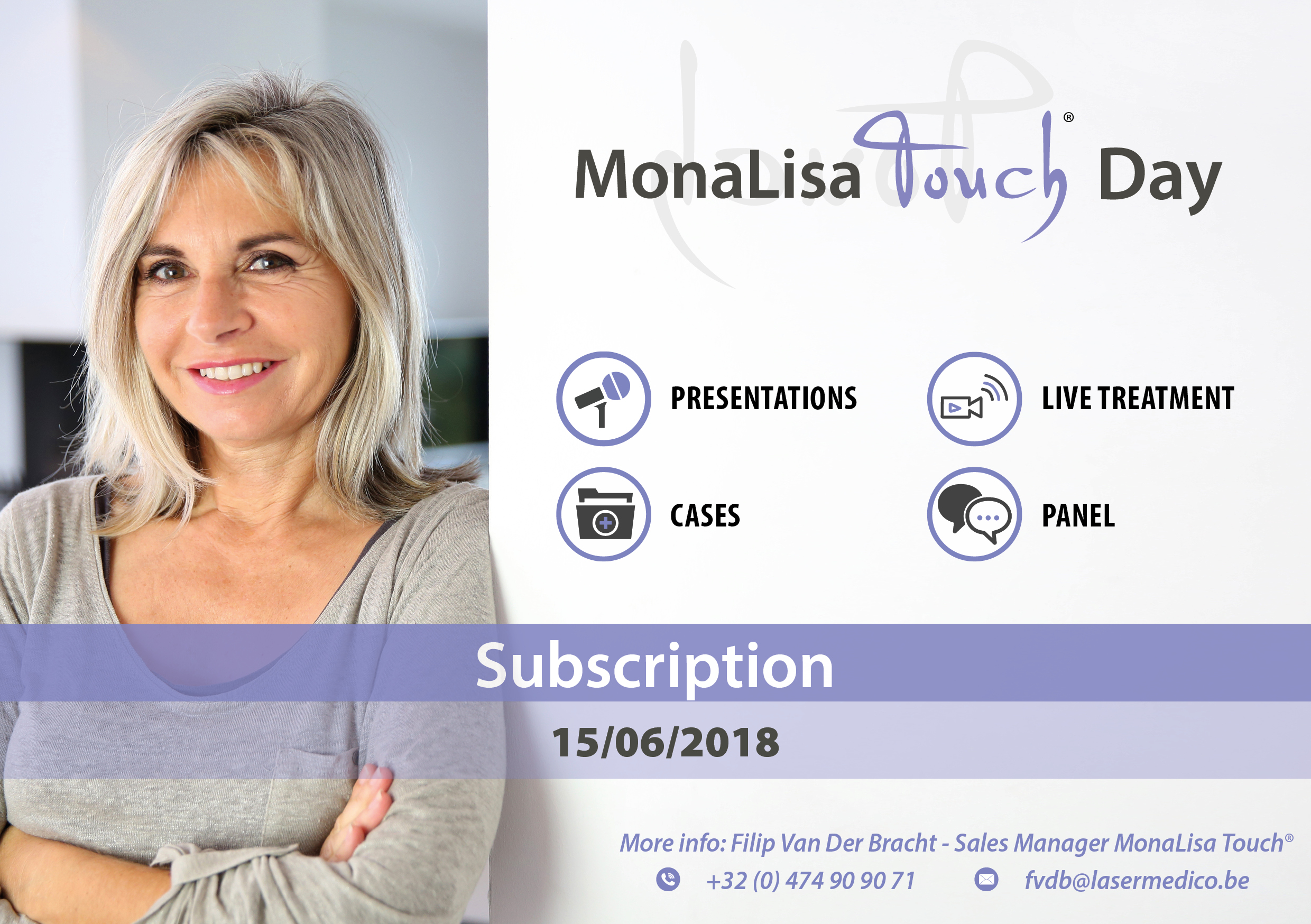 MONALISA TOUCH DAY